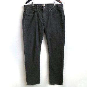 J.CREW 484 Slim-fit Chino Pant Khakis Classic Grey Ribbed Texture